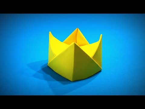 Origami Crown | How to Make Paper King Crown Easy DIY | Easy Origami ART | Paper Crafts