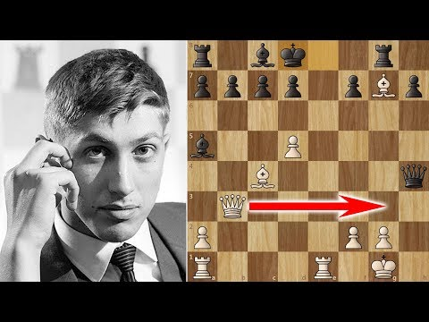 Bobby Fischer's Amazing 17 moves Victory in the Evans Gambit