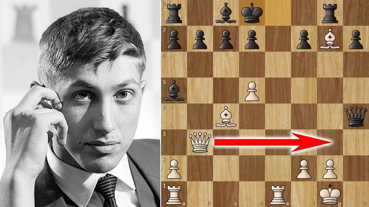 Bobby Fischer's Amazing 17 moves Victory in the Evans