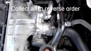 Cleaning the EGR(Exhaust Gas Recirculation) valve on Audi A4 B7 TDI