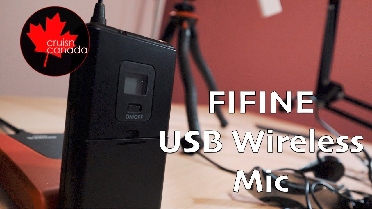 K031b Wireless Microphones For Computer Fifine Usb Wireless Microphone System For Pc Mac Headset Uhf Wireless System With Usb Receiver Transmitter Headset And Clip Lavalier Lapel Mic
