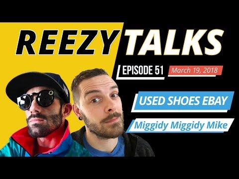 SELLING USED SHOES on Ebay | How to Clean Shoes for Ebay | MiggidyMiggidy Mike | Reezy Talks #51