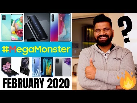 Top Upcoming Smartphones - February 2020🔥🔥🔥