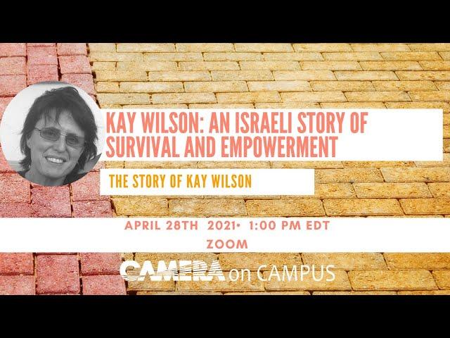 CAMERA Fellow Austin Pellizzer hosts Kay Wilson