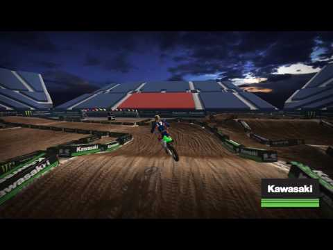 Salt Lake Supercross - Kawasaki Track Map 2017