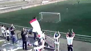 20101123 グルージャ盛岡 - 三洋電機洲本  試合終盤の盛岡サポーター