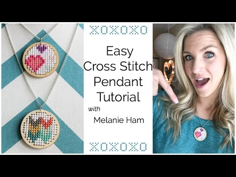 easy-cross-stitch-pendant-tutorial
