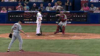 Chris Carpenter records the 10th K of his one-hitter