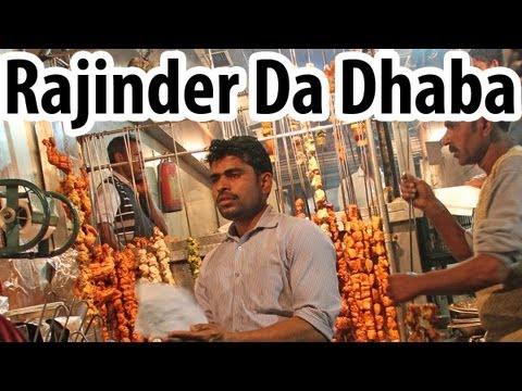 Rajinder Da Dhaba - Legendary Delhi Street Food