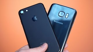 iPhone 7 vs Samsung Galaxy S7 Speed Test!