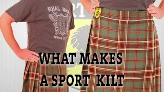 What makes a sport kilt - Full Video