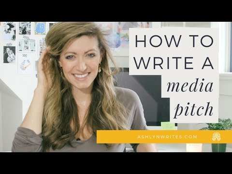 How To Write The PERFECT Email Pitch!