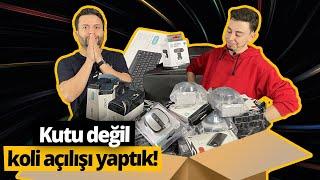 Kutu değil koli açtık, Dexim ürünlerini size hediye ettik!