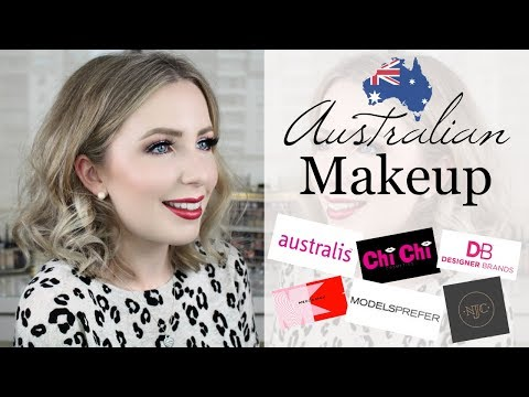 Full Face Of AFFORDABLE Australian Makeup Brands (USA/International Friendly!)