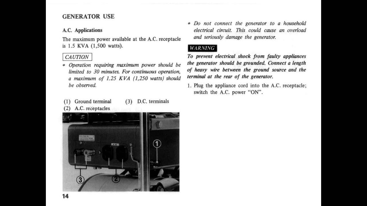 honda e1500 generator owners manual youtube rh youtube com honda generator owner's manual 6500 watt honda generator owner's manual eu3000is