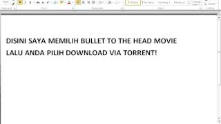 Cara Download Film Cepat dengan TORRENT(, 2013-05-30T03:58:17.000Z)