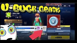 FORTNITE 🤪 HOW TO HAVE THE PASS BATTLE 4 FREE(500 VBUCK FREE SUBITO)