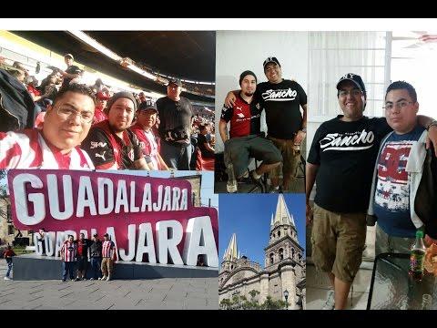WEEKEND GUY TRIP TO GUADALAJARA | CHIVAS VS ATLAS!!!