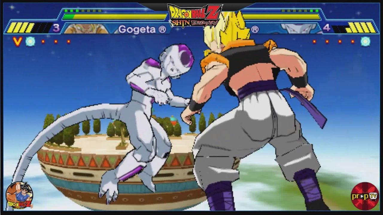 Ppssppdbzgaming Gogeta Vs Frieza Normal Youtube