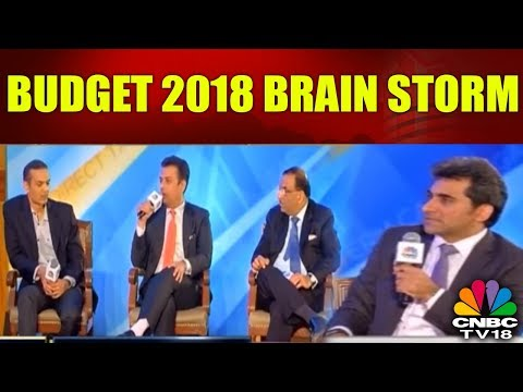 Budget 2018 BRAIN STORM | What to Expect in Terms of Expenditure, Revenues | CNBC TV18