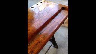 Antique Carpenters Workbench