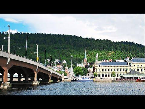 Train Travel from Lysaker to Drammen (Bergenline)