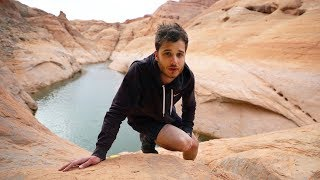 24h dans un canyon en Arizona