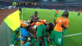 Côte d'Ivoire vs RD Congo (3-1)   CAN 2015