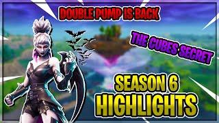 DOUBLE PUMP IS BACK? | FORTNITE SEASON 6 HIGHLIGHTS |  LOOT LAKE | BATTLE PASS BUNDLE