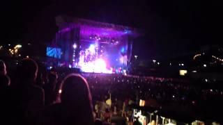 Big Time Rush Confetti Falling Hershey Stadium 7/19/13