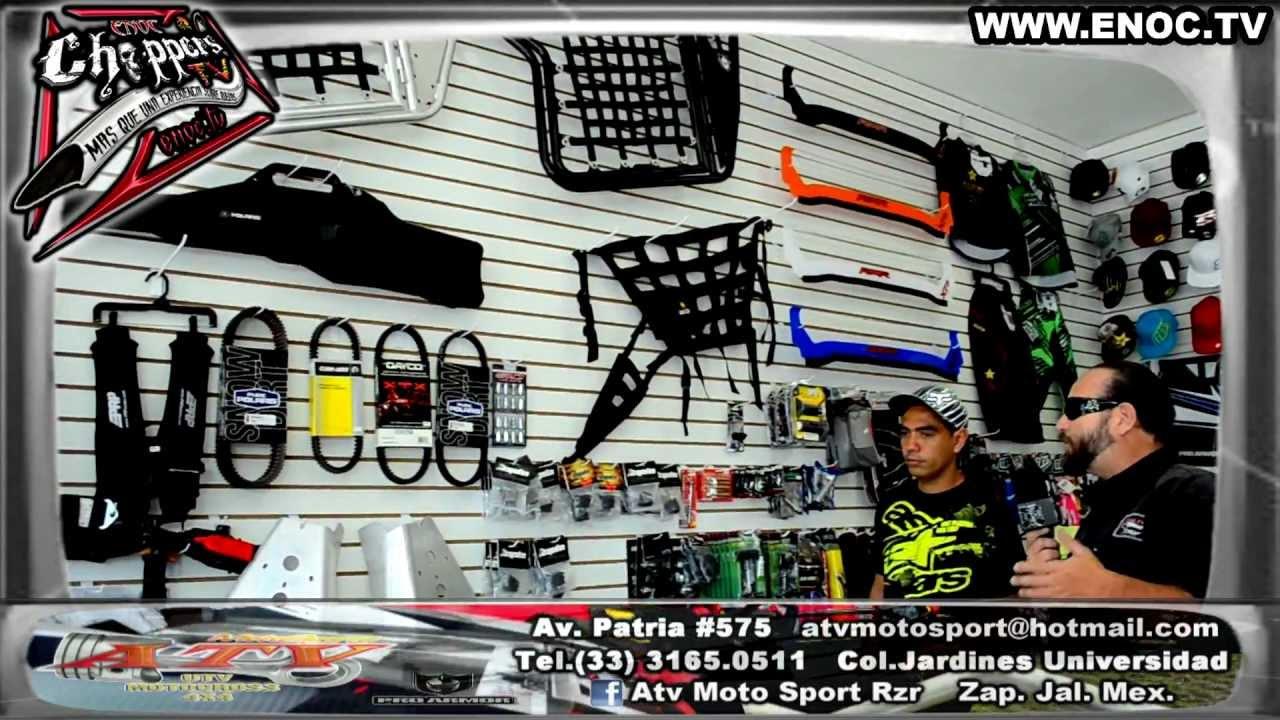 ATV moto sport tienda de utv motocross 4x4 ENOC.TV - YouTube