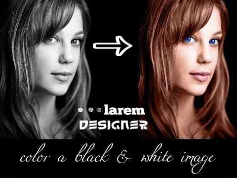How To Color Black And White Image Oshop Cs6 Tutorials