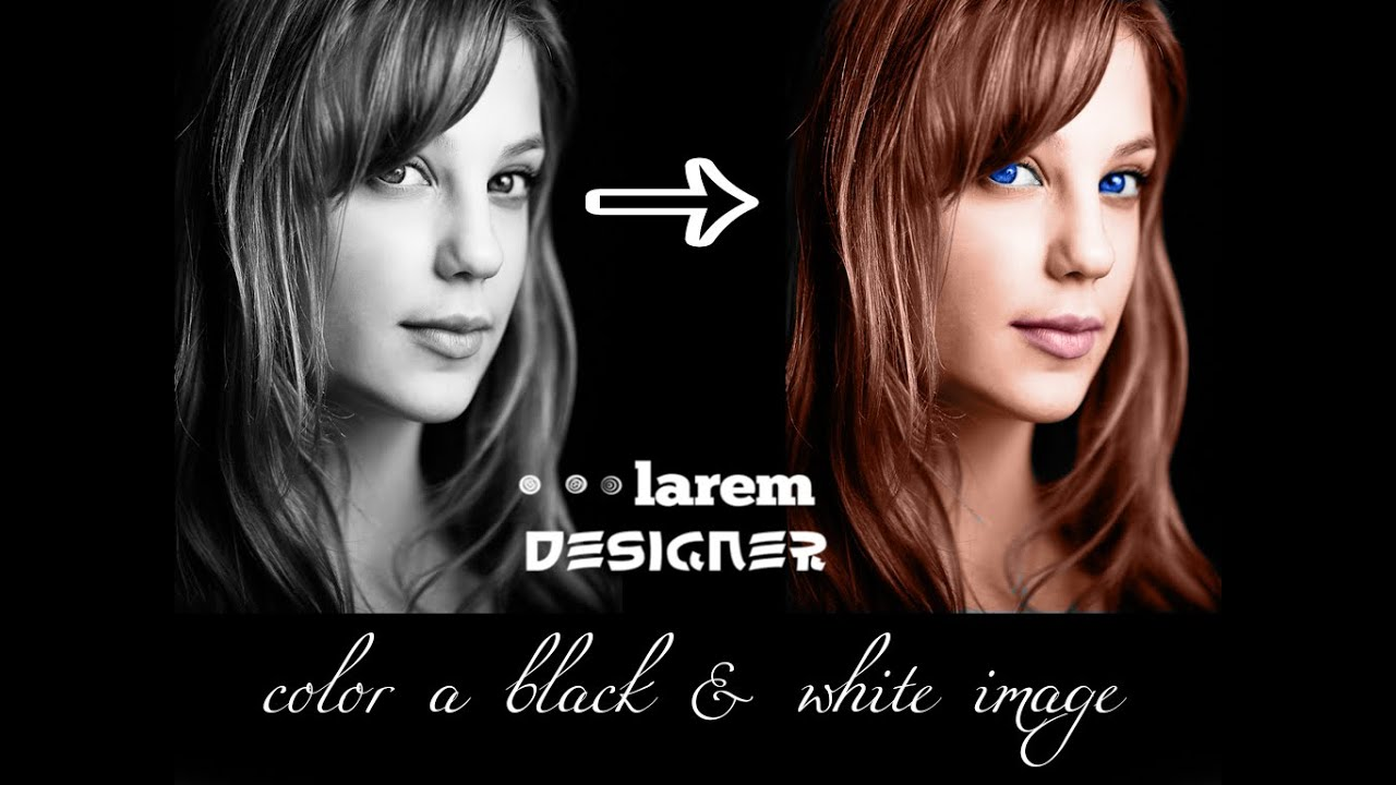 How To Color Black And White Image Photoshop CS6