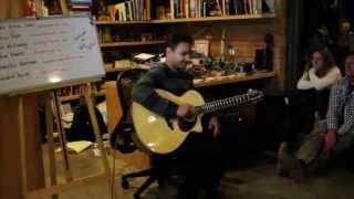 Rajasthani Folk Music on a 12-string acoustic guitar @ FRED Talks April 2013