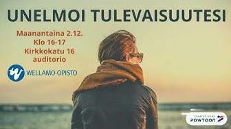 Unelmoi tulevaisuutesi 2.12. klo 16-17, Kirkkokatu 16, Lahti