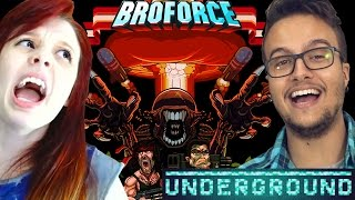 BRODERGROUND DOS BROS - BROFORCE com Damiani & Satty