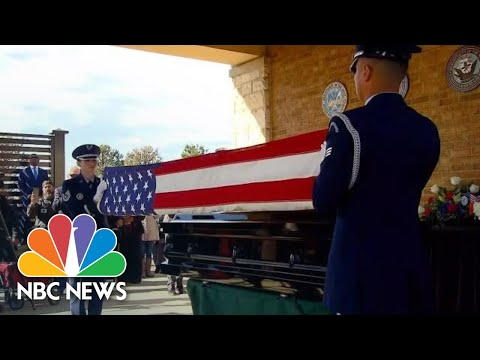 Crowds Attend Funeral For Vietnam Veteran With No Next Of Kin | NBC News