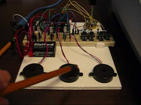 Arduino based Programmable MIDI Drumkit - YouTube