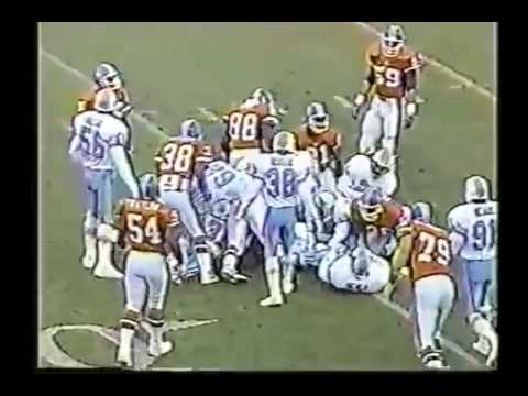 Houston Oilers vs Denver Broncos 1991