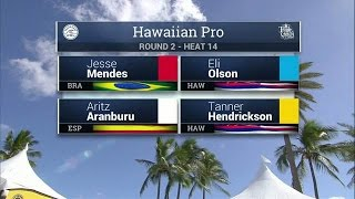 2016 Hawaiian Pro: Round Two, Heat 14