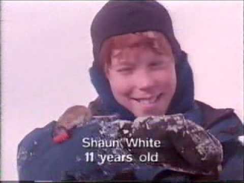 Shaun White 11 years old