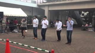第51回千葉大学祭 T.o.N.E.ストリート発表 3日目.