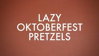 How To Make Oktoberfest Pretzels | #likeamofo | Shuggilippo