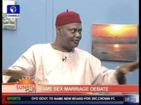 Same Sex Marriage Debate with Chima Nnaji Pt.1
