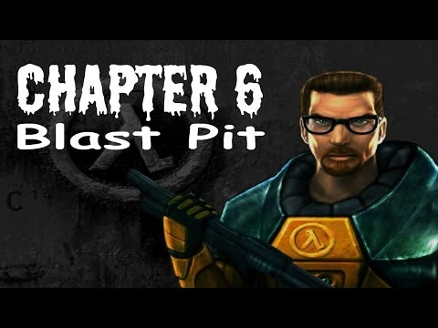 Half-Life (100%) Walkthrough (Chapter 6: Blast Pit)