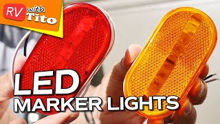 Installing LED Marker, Clearance and Porch Lights on RV