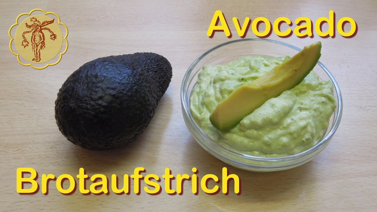 Avocado Brotaufstrich Youtube