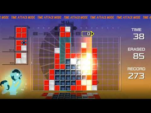 Lumines Remastered: 60 Seconds Time Attack - 278