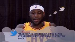 NBA Players Reading Funny Mean Tweetss