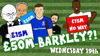 75m KEITA to LFC? £50m BARKLEY to SPURS? Or £15m? Or 50p? (Parody Transfer News)